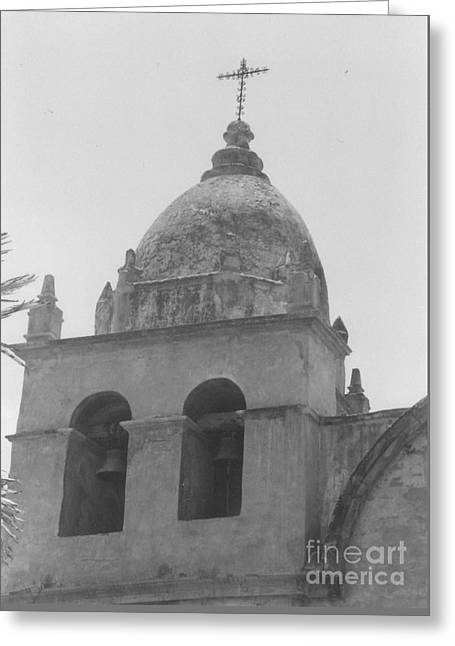 Mission Carmel Greeting Card