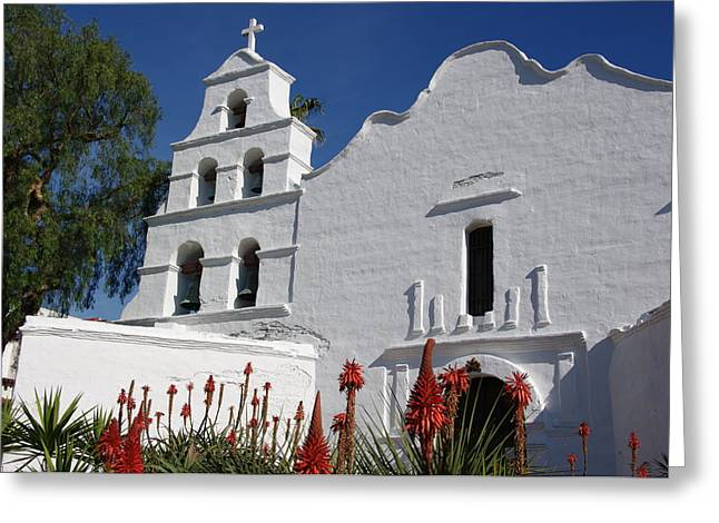 Mission San Diego Greeting Card
