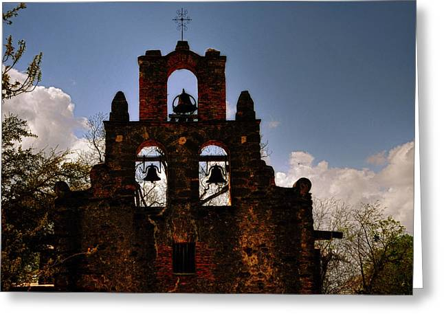 Mission San Francisco De La Espada Greeting Card
