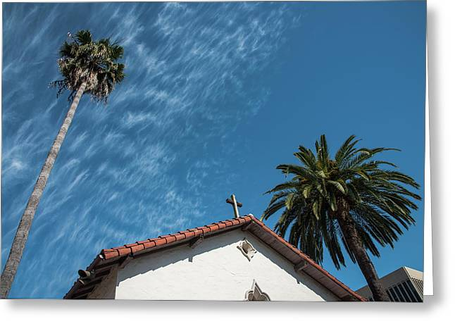 Mission San Rafael Arcangel Greeting Card by Richard White