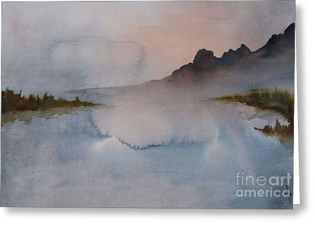 Mist Greeting Card