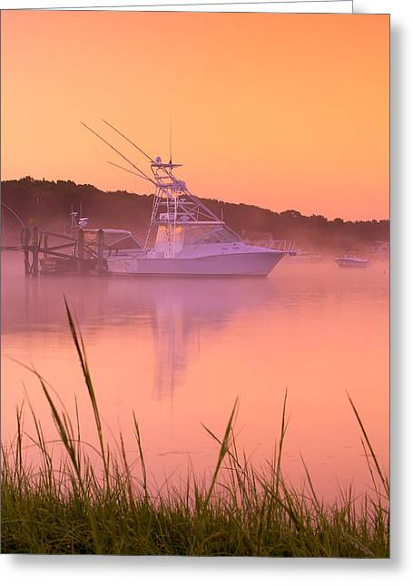 Misty Morning Osterville Cape Cod Greeting Card by Matt Suess