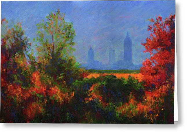 Mobile Skyline From Felix's Greeting Card by Vernon Reinike
