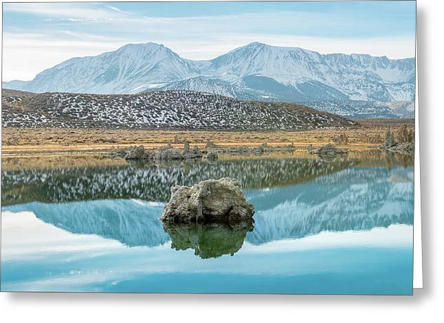 Mono Lake Reflections Greeting Card by Joseph Smith
