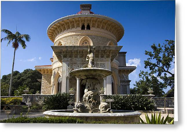 Monserrate Palace Greeting Card by Andre Goncalves