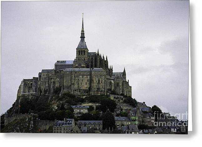 Mont St Michel Greeting Card