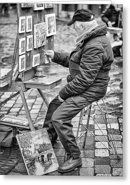 Montmartre. Greeting Card