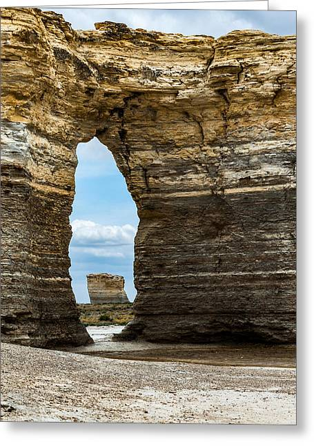 Monument Rocks Greeting Card