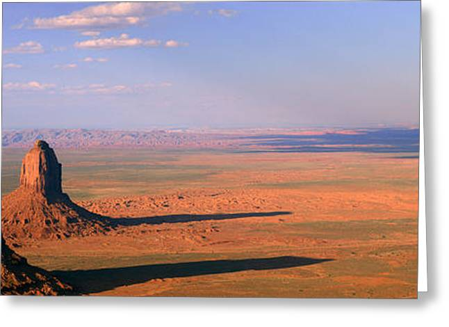 Monument Valley Tribal Park, Arizona Greeting Card by Panoramic Images