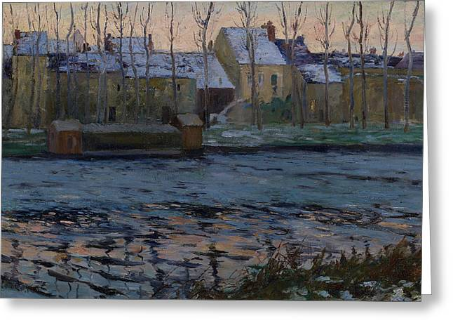 Moret, Winter Greeting Card