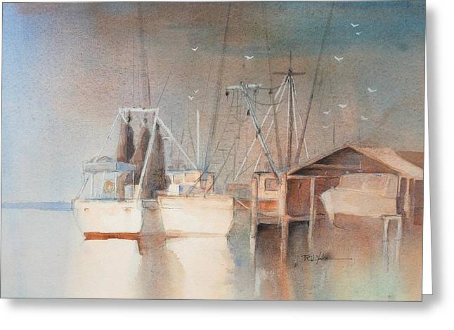 Morning In St. Marys Greeting Card