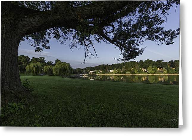 Morning In The Park Greeting Card by Everet Regal