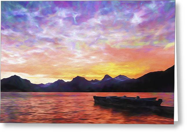 Morning Light II Greeting Card by Jon Glaser