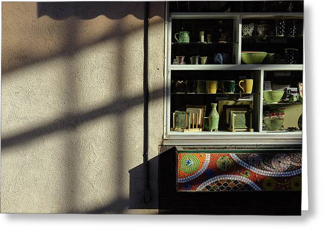 Greeting Card featuring the photograph Morning Shadows by Monte Stevens
