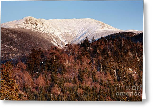 Mount Lafayette - White Mountains New Hampshire Usa Greeting Card by Erin Paul Donovan