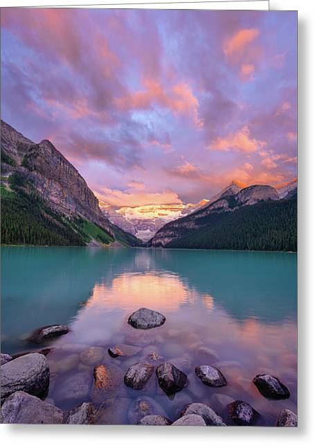 Mountain Rise Greeting Card