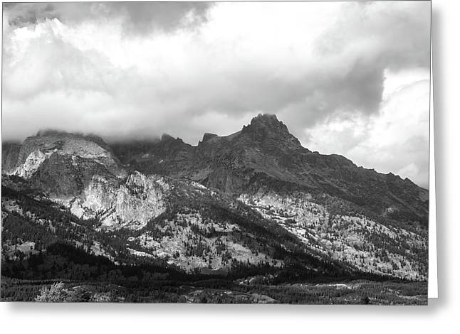 Greeting Card featuring the photograph Mountain Shadows by Colleen Coccia
