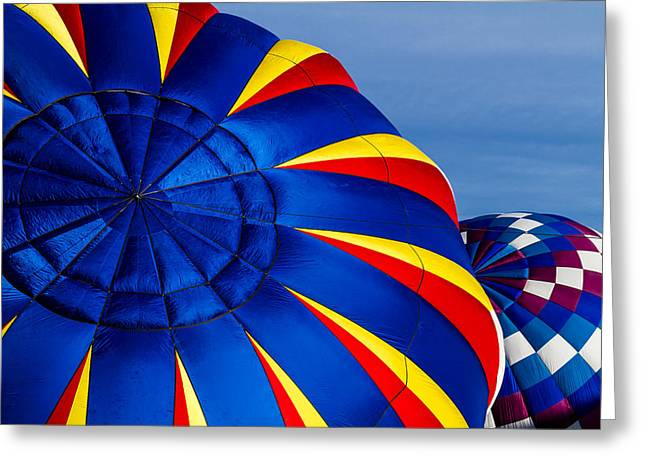 Mountains Of Color Greeting Card by Teri Virbickis
