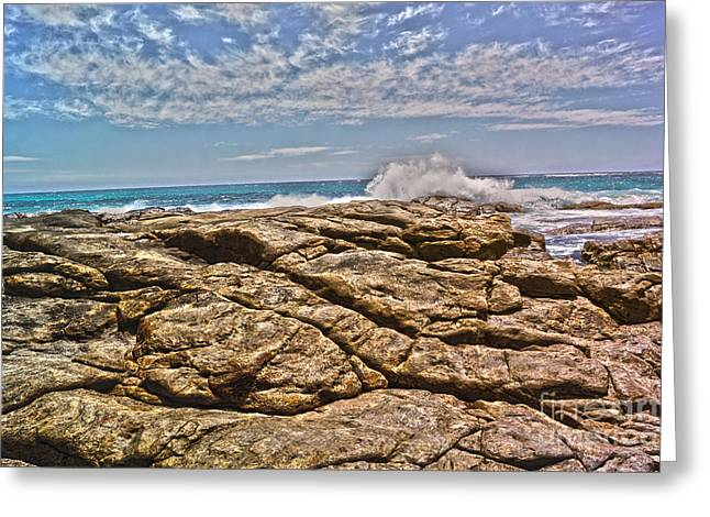 Mouth Of Margaret River Beach II Greeting Card