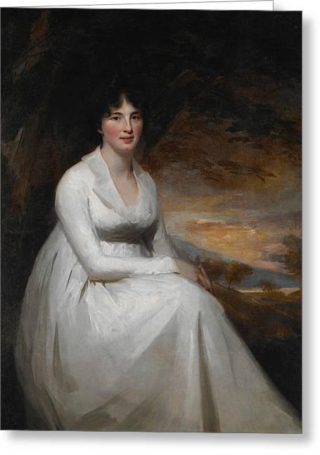 Mrs. Macdowall Greeting Card by Henry Raeburn