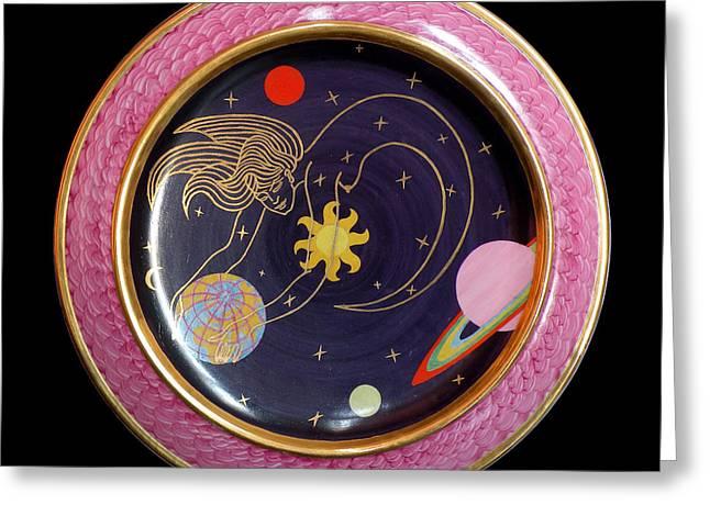 Ms. The Universe. Greeting Card by Vladimir Shipelyov