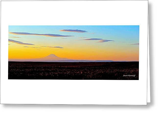 Mt. Adams Sunset Greeting Card