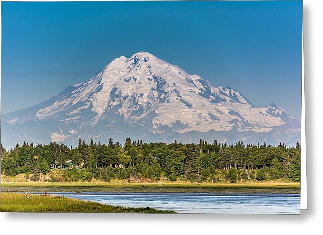 Mt. Redoubt Greeting Card