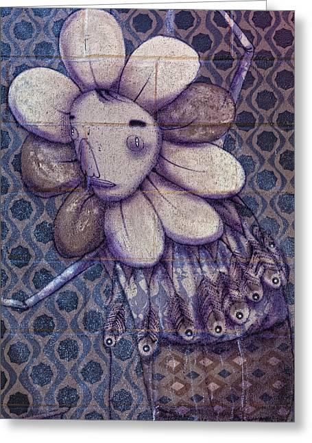 Mural - Coney Island Nyc Greeting Card by Robert Ullmann