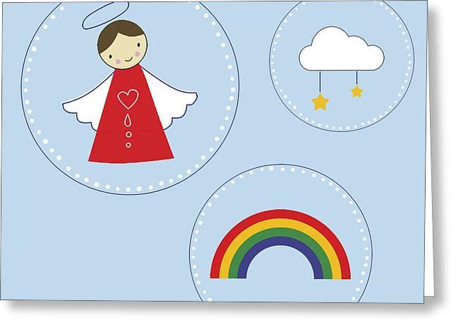 My Angel Greeting Card by Kathrin Legg