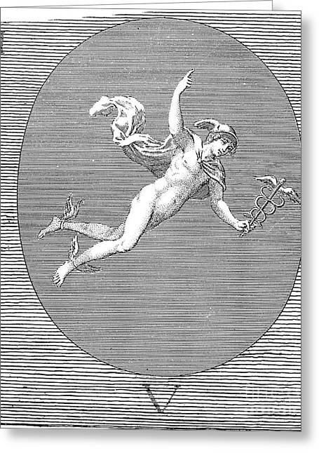 Mythology: Hermes Greeting Card