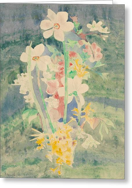Narcissi Greeting Card by Charles Demuth