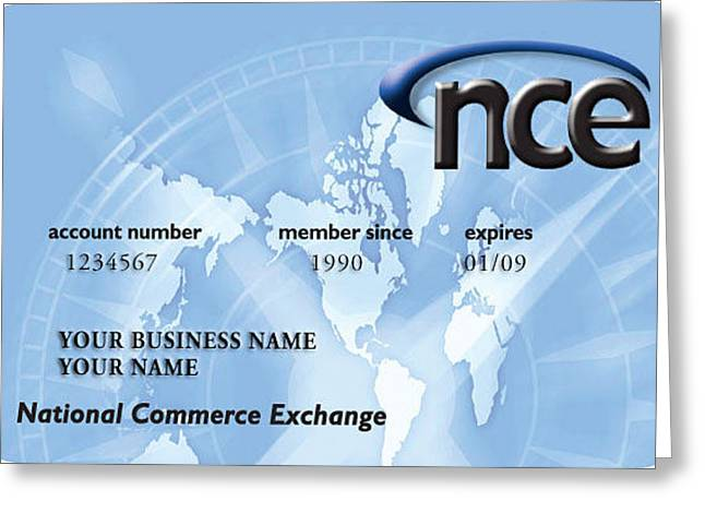 National Commerce Exchange Greeting Card