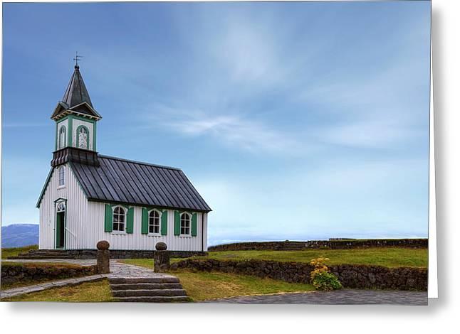 National Park Thingvellir - Iceland Greeting Card