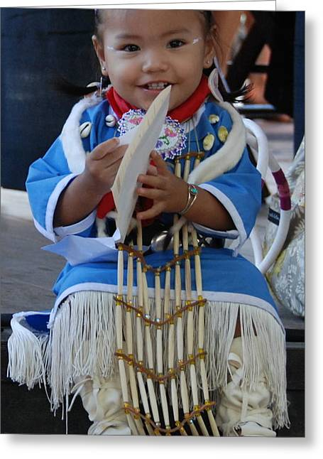 Native American Baby Girl Greeting Card