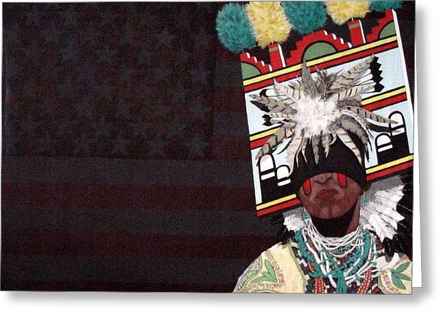 Native Dancer Greeting Card