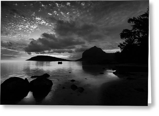 Near Le Morne Greeting Card