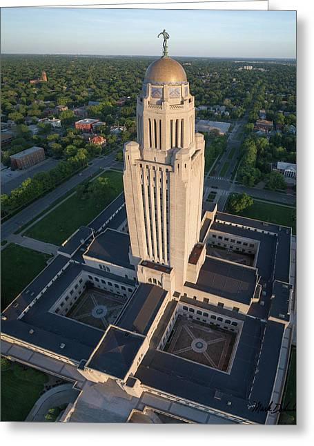 Nebraska State Capitol Building Greeting Card