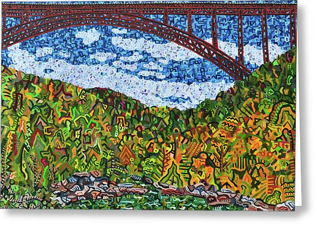 New River Gorge Greeting Card by Micah Mullen