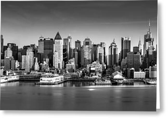 New York City Panorama Greeting Card