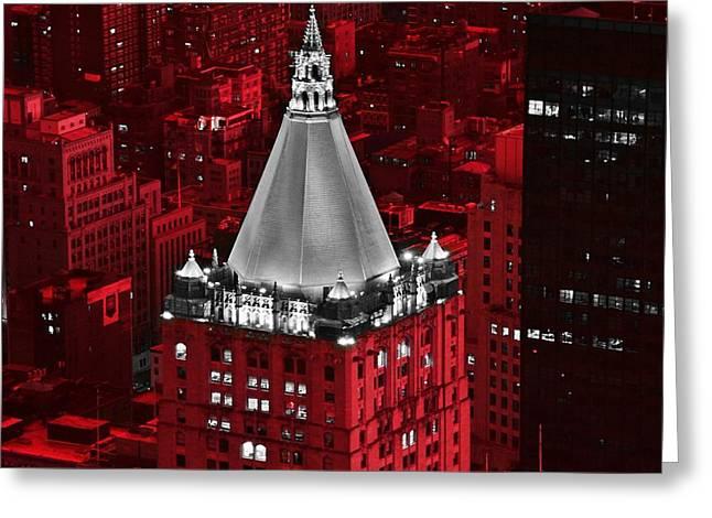New York Life Building Greeting Card