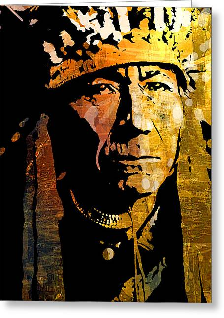 Nez Perce Chief Greeting Card