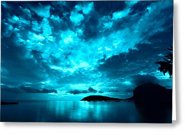 Nightfall Greeting Card