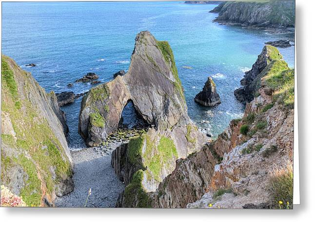 Nohoval Cove - Ireland Greeting Card