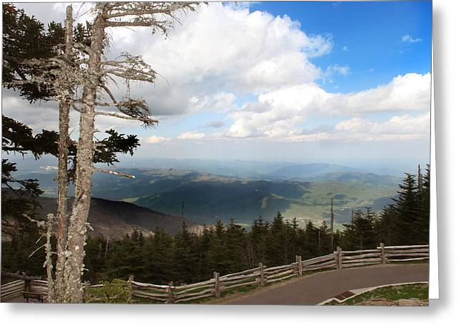 North Carolina High Country Greeting Card
