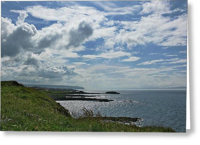 North Coast Cloudscape Greeting Card