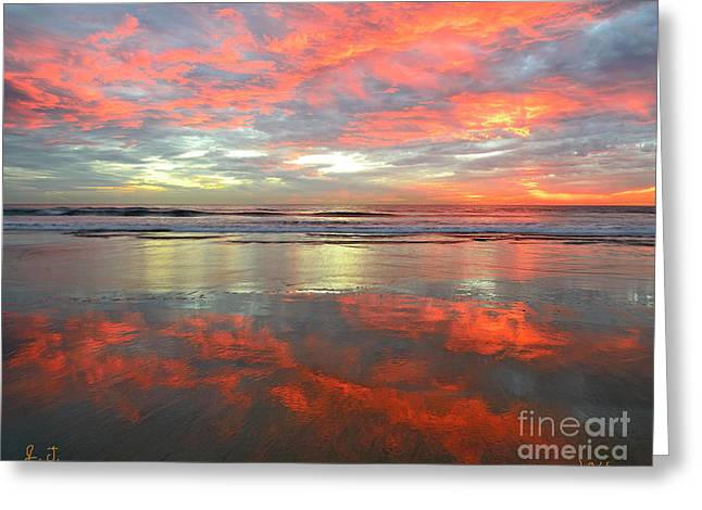 North County Reflections 48x60 Inches Greeting Card
