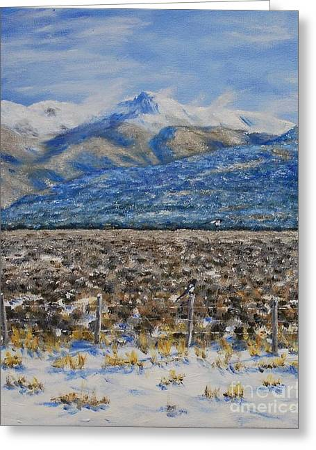 Stanton Allaben Greeting Cards - North Of Taos Greeting Card by Stanton Allaben