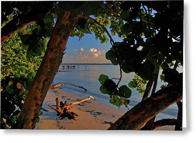 Greeting Card featuring the photograph 1- North Palm Beach by Joseph Keane
