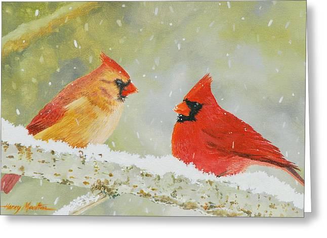 Northern Cardinals Greeting Card