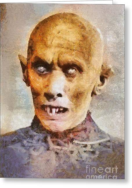 Nosferatu, Classic Vintage Horror Greeting Card